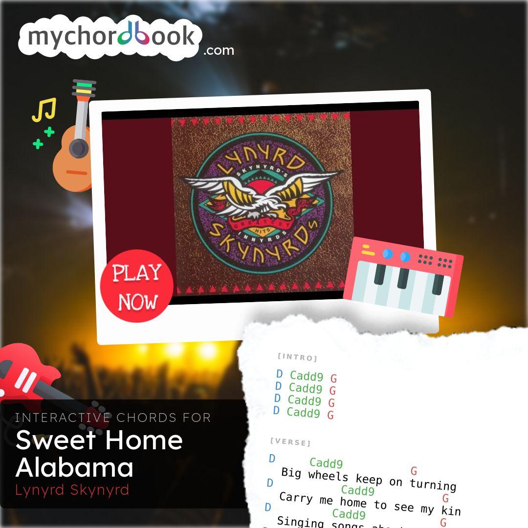 Lynyrd Skynyrd   Sweet Home Alabama Chords