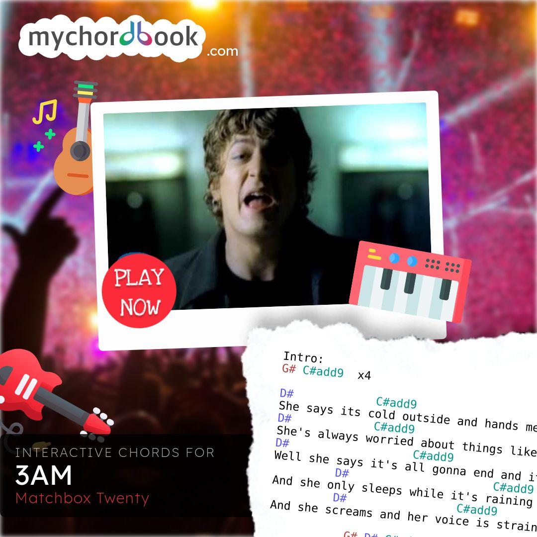 Matchbox Twenty   15AM Chords